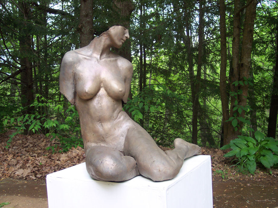 Mike Sherrer-Triny Cline /Bronze Sculpture #artpeople
