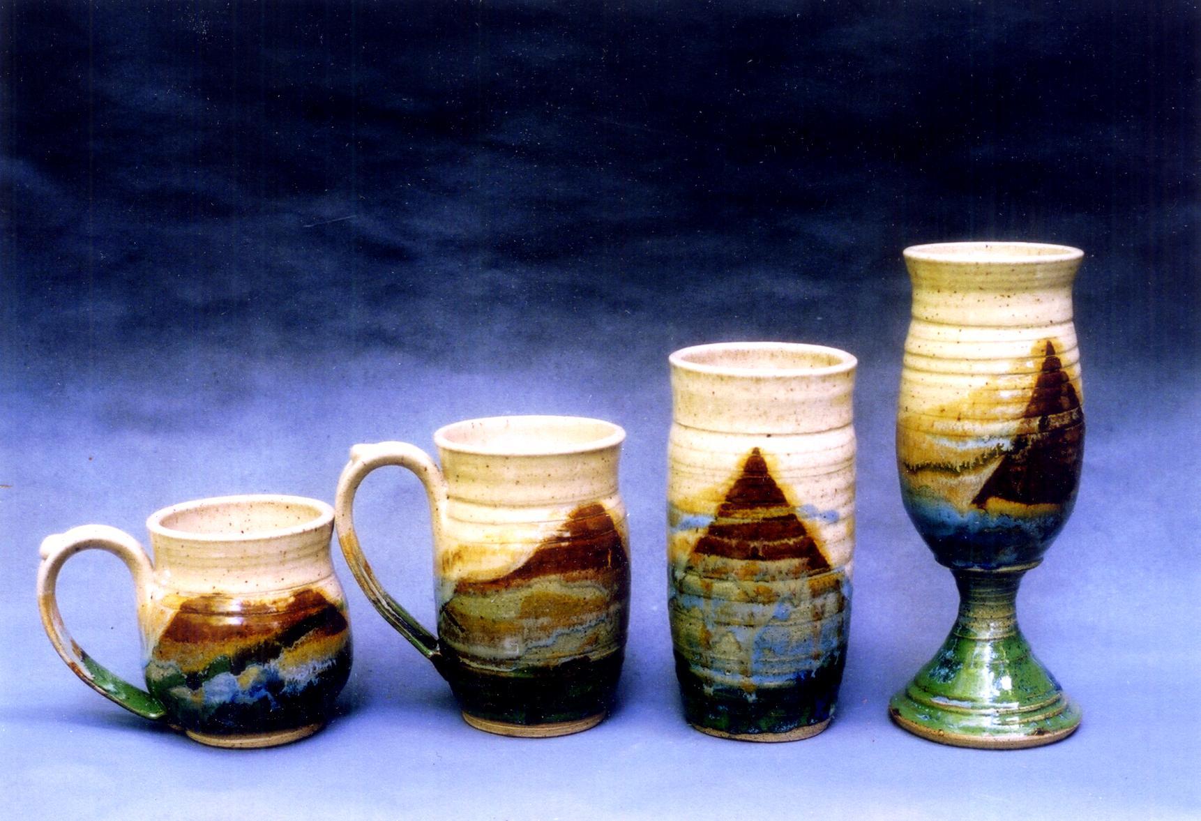 Brown Drinking Vessels