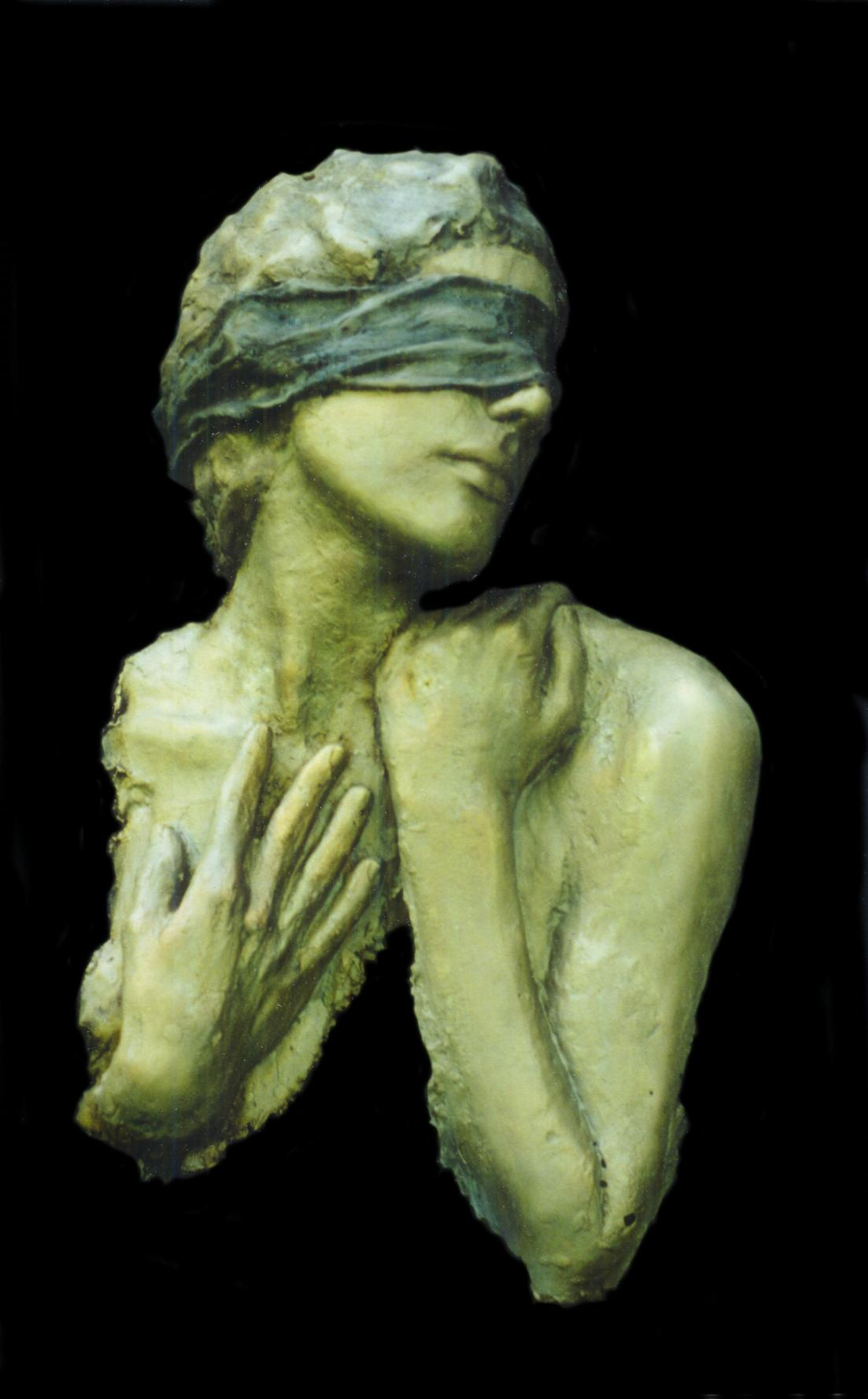 Surrender, Mike Sherrer-Triny Cline /Bronze Sculpture #artpeople